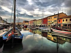 Porto canale - Cesenatico by <b>marco .gi 46</b> ( a Panoramio image )