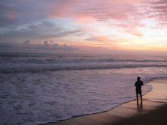 shangumugam beach by <b>mohammad suhaib</b> ( a Panoramio image )