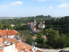 View from above at Sintra Center, Portugal ( Please enlarge for  by <b>Lucien Kivit</b> ( a Panoramio image )