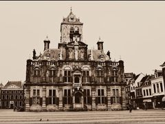 Town Hall (1620) - Delft, The Netherlands by <b>© cvandermeijden</b> ( a Panoramio image )