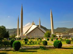Faisal Mosque Islamabad by <b>sanaullah </b> ( a Panoramio image )