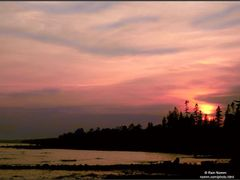Cedar Cove Sunset by <b>Rein Nomm</b> ( a Panoramio image )