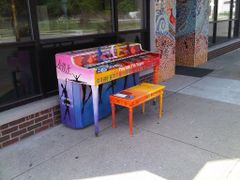 "Play Me I""m Yours Piano Madisonville by <b>jdittelberger</b> ( a Panoramio image )"