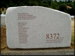 8372 Total number of victims which is not final  ## THE SREBRENI by <b>MehmedPoracaninMesa</b> ( a Panoramio image )