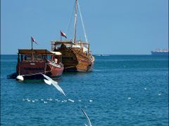 Dhow - the omanite triditional boats by <b>patano</b> ( a Panoramio image )