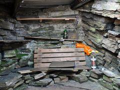 Inside Slugain Bothy  by <b>Bartolomeo Gorgoglione</b> ( a Panoramio image )