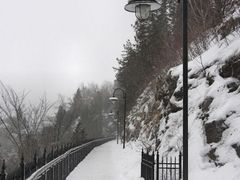 Boardwalk at Montmorency Falls by <b>Marilyn Whiteley</b> ( a Panoramio image )