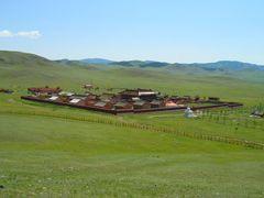 Amarbayasgalant monastery by <b>Alexandre Angeluz</b> ( a Panoramio image )