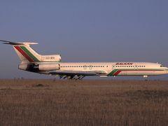 "BALKAN""s LZ-BTH Tupolev TU 154 @ LBSZ/SZR airport.  by <b>?GAMBRINUS??</b> ( a Panoramio image )"
