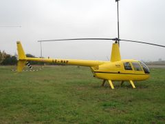 LZ-HAP R44 Raven helicopter @ LBSZ/SZR airport. by <b>?GAMBRINUS??</b> ( a Panoramio image )