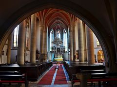 Prague, Church of St. Prokop in Zizkov - interior. by <b>© truskawka</b> ( a Panoramio image )