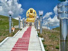 Amarbayasgalant monastery new  by <b>Alexandre Angeluz</b> ( a Panoramio image )
