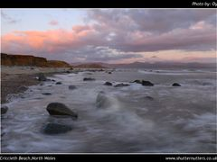 Criccieth Beach by <b>www.ShutterNutters.co.uk</b> ( a Panoramio image )