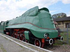 Hurried steam locomotive. Niemiecki parowoz pospieszny Pm3 z lat by <b>tu.andy</b> ( a Panoramio image )