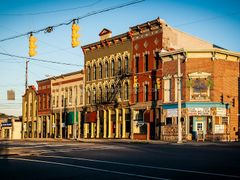 Downtown Greensburg, Indiana - E. Main Street by <b>jasondozier</b> ( a Panoramio image )