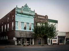 Downtown Greensburg, Indiana - N. Franklin Street by <b>jasondozier</b> ( a Panoramio image )