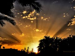 Sonnenaufgang uber Houmt Souk auf Djerba by <b>EA. Stoick</b> ( a Panoramio image )