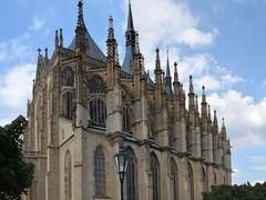 KUTNA HORA - katedrala sv Barbory  / Cathedral of St. Barbara  by <b>votoja - CZ</b> ( a Panoramio image )