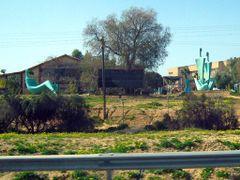 Statue Park Kfar Vitkin by <b>CarmelH</b> ( a Panoramio image )