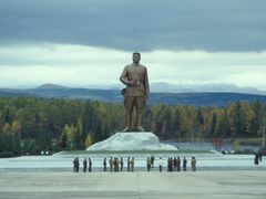 Samjiyon Grand Monument by <b>Eckart Dege</b> ( a Panoramio image )