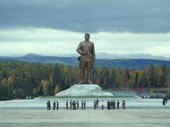 Samjiyon Grand Monument by <b>Eckart Dege</b> ( a Panoramio image )
