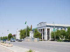 Хякимлик в Балканабаде by <b>denisberdiyev</b> ( a Panoramio image )