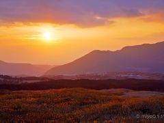 """""""Orange"""" sky at evening,shepherd""""s delight. by <b>miyo0117</b> ( a Panoramio image )"""