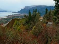 Historic Columbia River Hwy as Seen from Crown Point by <b>© Michael Hatten http://www.sacred-earth-studios.com</b> ( a Panoramio image )