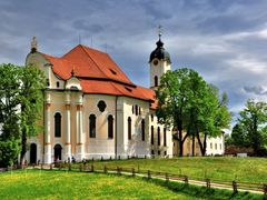 Steingaden, Wieskirche, Weltkulturerbe by <b>Dieter Hockertz</b> ( a Panoramio image )