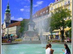 Razglednica iz Graza - Postcard from Graz - Postkarte aus Graz by <b>Boby - ilovefoto</b> ( a Panoramio image )
