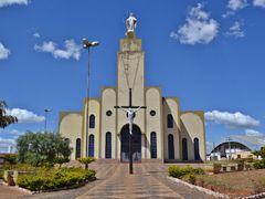Matriz de Goianapolis, GO. by <b>Arolldo Costa Oliveira</b> ( a Panoramio image )