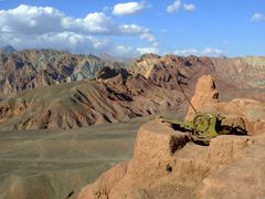 AFGHANISTAN_BAMIAN_SHAHR-I-ZOHAK by <b>davidadamex</b> ( a Panoramio image )