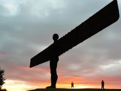 angel of the north .. by <b>Kri5tof</b> ( a Panoramio image )