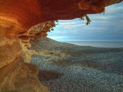 Sandcut Beach - Jordan River, BC by <b>Randy Hall</b> ( a Panoramio image )