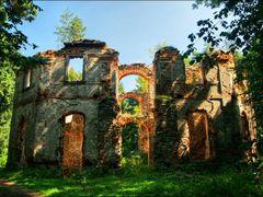 zricenina kaple sv. Jana Krtitele ve Vysoke by <b>Irena Brozova (CZ)</b> ( a Panoramio image )