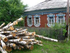 Дрова привезли by <b>Irina Omsk</b> ( a Panoramio image )