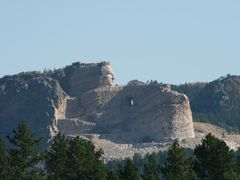 Crazy Horse Memorial by <b>Adam Elmquist</b> ( a Panoramio image )