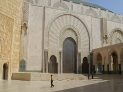 Mosque Hassan II by <b>elakramine</b> ( a Panoramio image )