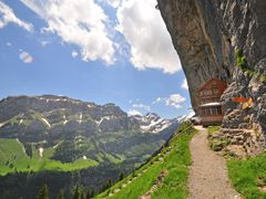 View to Berggasthaus Ascher © Sunpixx by <b>Sunpixx</b> ( a Panoramio image )