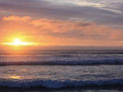 Puesta de Sol - Quintay by <b>Andr?s Andonie</b> ( a Panoramio image )
