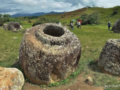 A Laotian Archaic Jar in Xiang Khoang Plateau, Laos by <b>Le Xuan Hung</b> ( a Panoramio image )