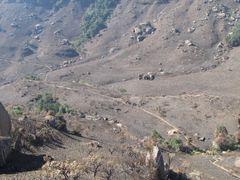 Wanderung vom Didima-Camp uber die Doreen Falls zu den San-Felsm by <b>Heiligkreuz</b> ( a Panoramio image )