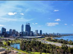 Perth from Kings Park.. by <b>cindy555</b> ( a Panoramio image )