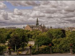 Stockholm, Nordiska museum, the view from the open-air museum (S by <b>BernardJ47</b> ( a Panoramio image )
