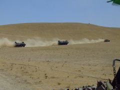 German convoy in the desert by <b>Andras Furman</b> ( a Panoramio image )