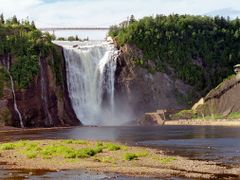 Montmorency Falls  /  Chute Montmorency by <b>Zabb Csaba</b> ( a Panoramio image )