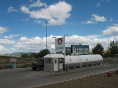 Erdenet Gas Station by <b>ooswald</b> ( a Panoramio image )