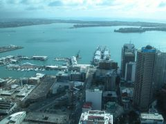 Auckland from Sky Tower by <b>ThoiryK</b> ( a Panoramio image )