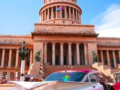 Capitolio - un simbolo de Habana - escena tipica - Surealismo tr by <b>Stathis Chionidis</b> ( a Panoramio image )