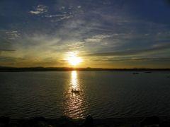 Sri Lankan sunset near Dambulla by <b>Valerio Manassero</b> ( a Panoramio image )